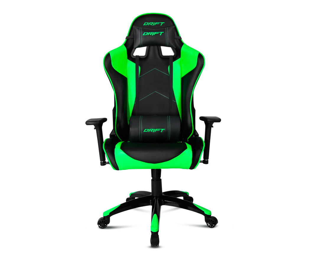 Silla gaming drift dr300 verde for Silla gamer barata
