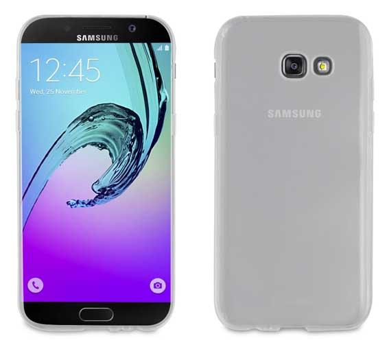 2c5c4b6ad05 Funda Crystal Soft Transparente Samsung Galaxy A5 2017 Muvit