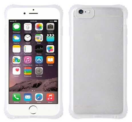 668fa112a285 Funda TPU Transparente Shockproof iPhone 6 Plus/6s Plus Muvit Pro
