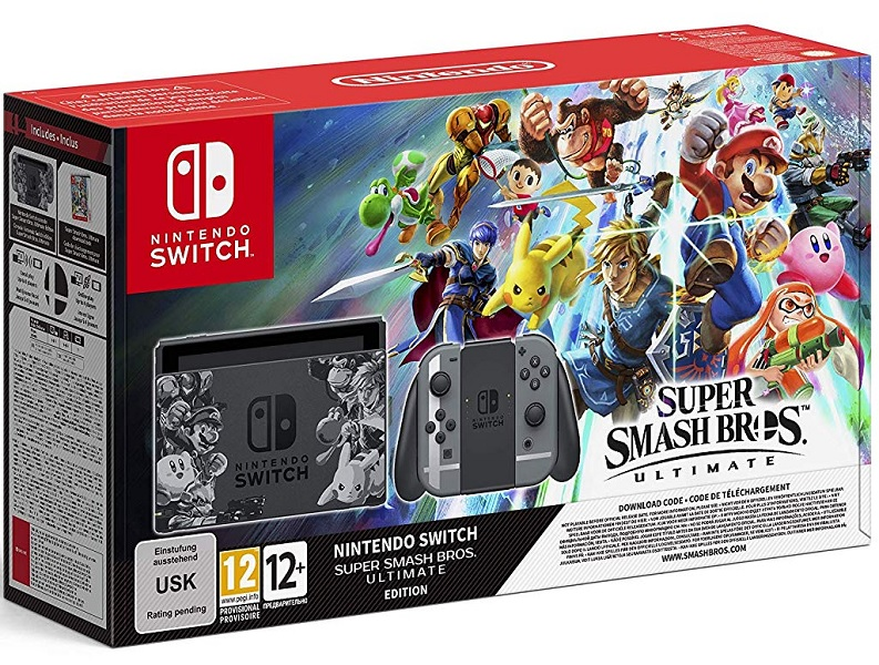 Nintendo Switch Edicion Super Smash Bros Ultimate