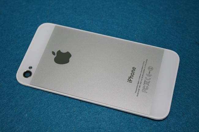 30c37765ab2 Carcasa trasera iPhone 4 (estilo iPhone 5) Blanco