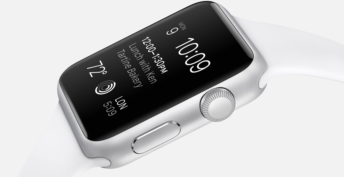 Apple iwatch sport blanco for Especificaciones iwatch
