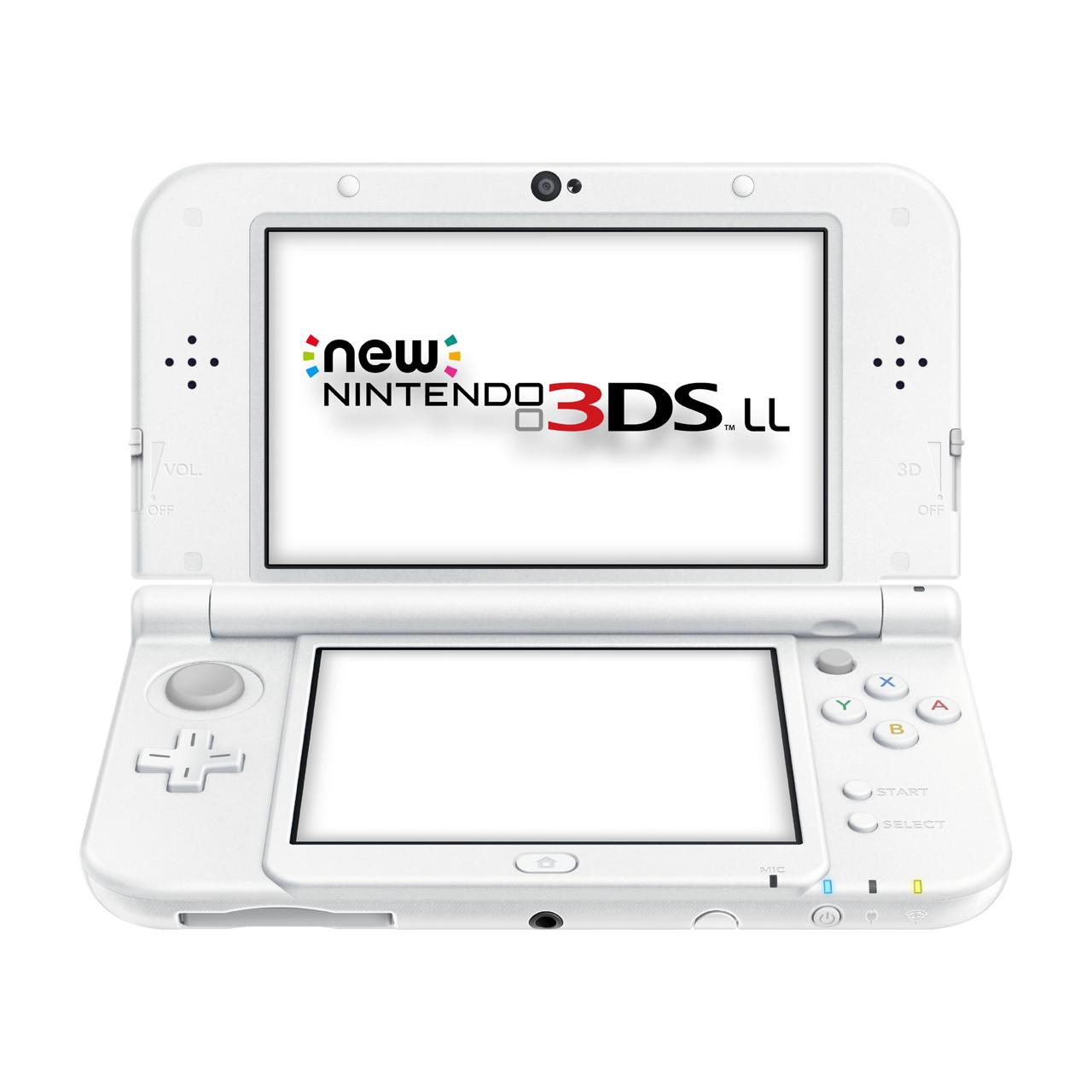 New Nintendo 3ds Xl Blanco Perla Discoazul Com