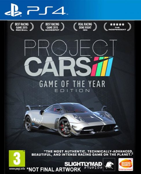 project cars game of the year edition ps4. Black Bedroom Furniture Sets. Home Design Ideas