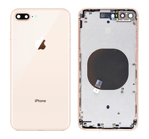 Back Cover - iPhone 8 Plus Gold
