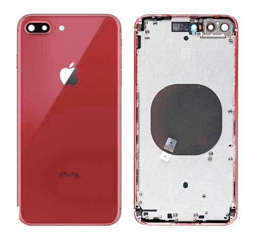 cheap for discount 984cd fc3fb Back Cover - iPhone 8 Plus Red