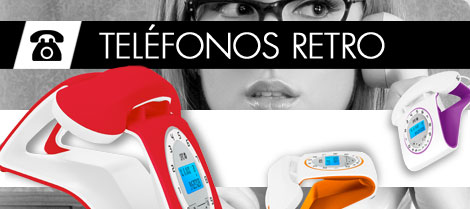 Teléfonos Retro