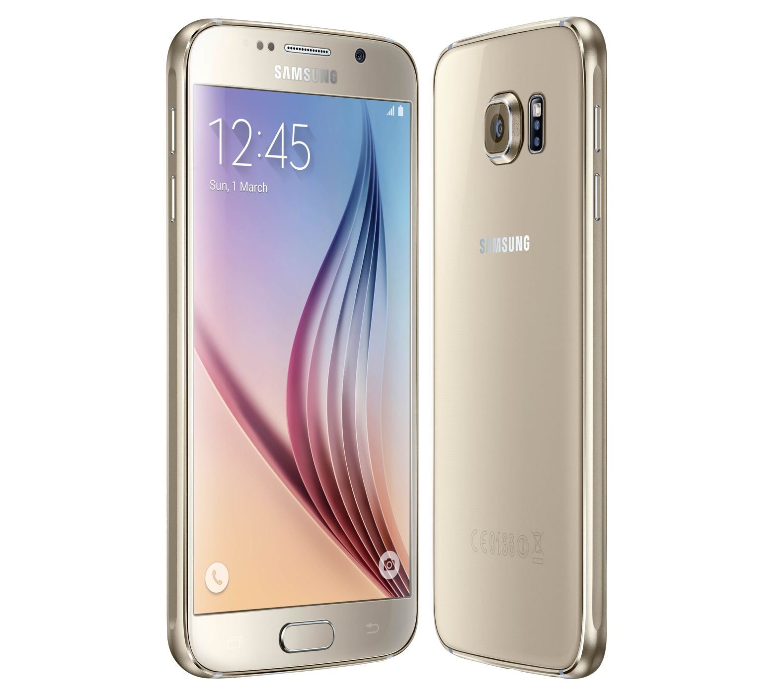 Samsunf Platinum: Samsung Galaxy S6 Gold Platinum