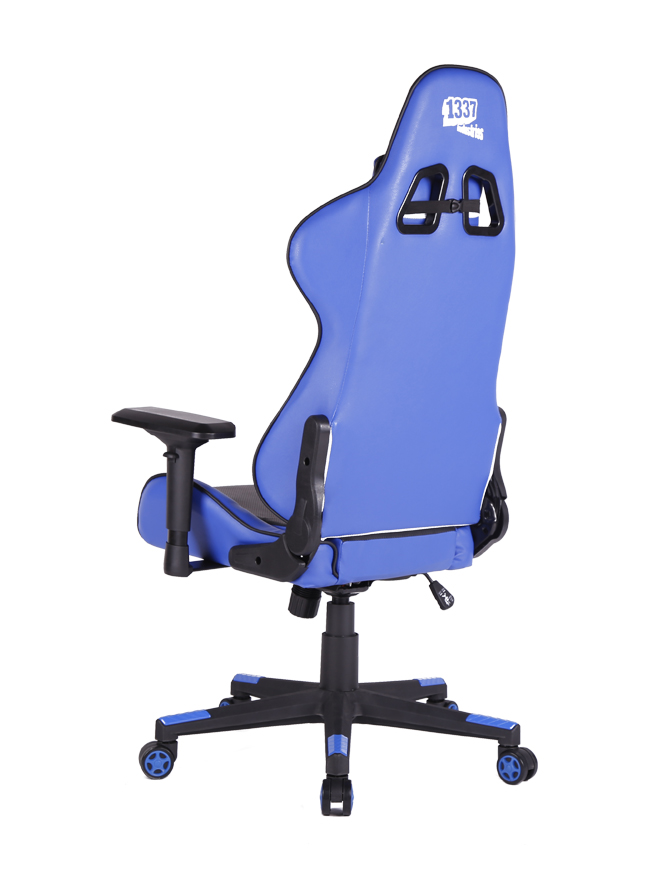 size 40 8de7a 86078 ... Gaming Seat 1337 Industries GC780BL - Blue Black, Img 3 ...
