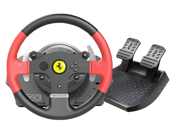 volante thrustmaster t150 ferrari edition. Black Bedroom Furniture Sets. Home Design Ideas