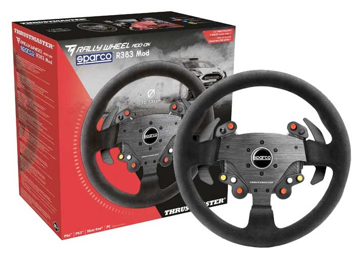 thrustmaster tm rally wheel add on sparco r383 mod. Black Bedroom Furniture Sets. Home Design Ideas