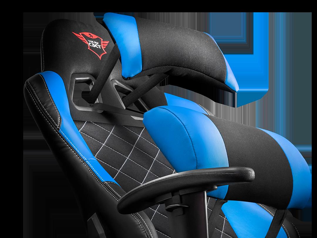 Trust silla resto gaming chair blue gxt 707r ps4 xbone pc swi - Bultaco silla gaming ...
