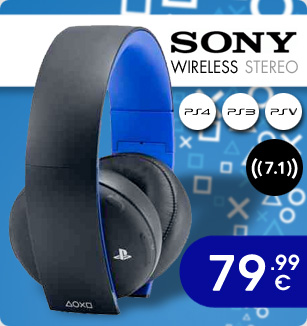 Sony Wireless Stereo Headset PS4