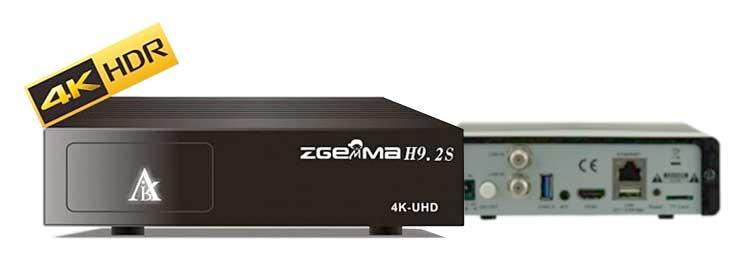 Receptor Satélite Zgemma H9.2S 4K